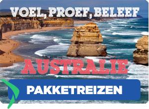 Pakketreizen naar Australie