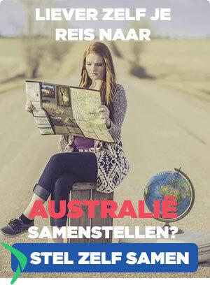 zelf je reis naar Australie samenstellen